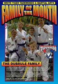 FAMILY of the month POSTER, Dubrule Layout 1