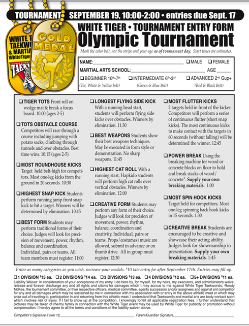 Oluympic Tournament 2020