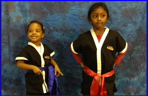 TIGER TOTS Blue Sash to Red Sash