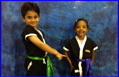 TIGER TOTS Green Sash to Blue Sash