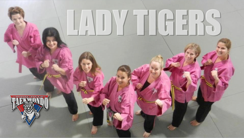 White Tiger Lady Tigers